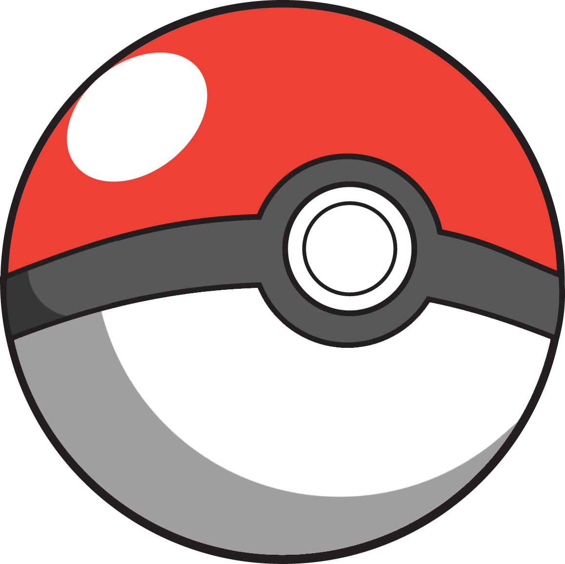 Pokeball clipart silhouette. Pokebola go png pokemon