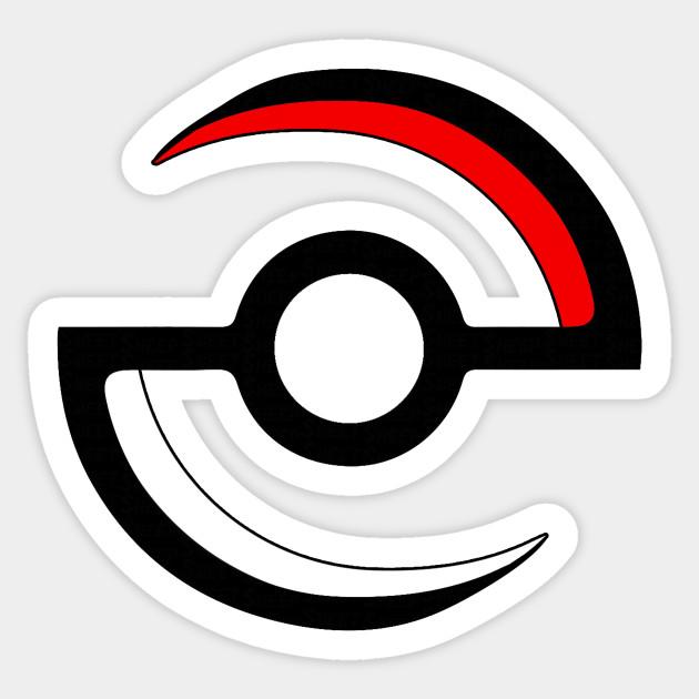 Design . Pokeball clipart simple