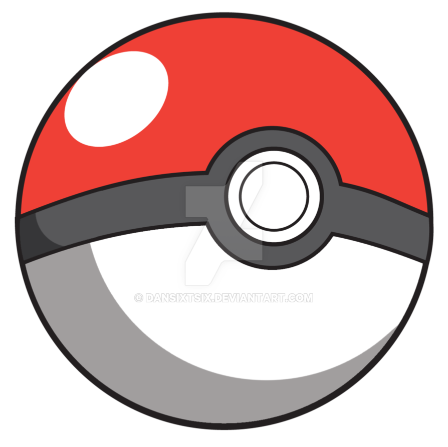 Pokeball clipart six. By dansixtsix on deviantart