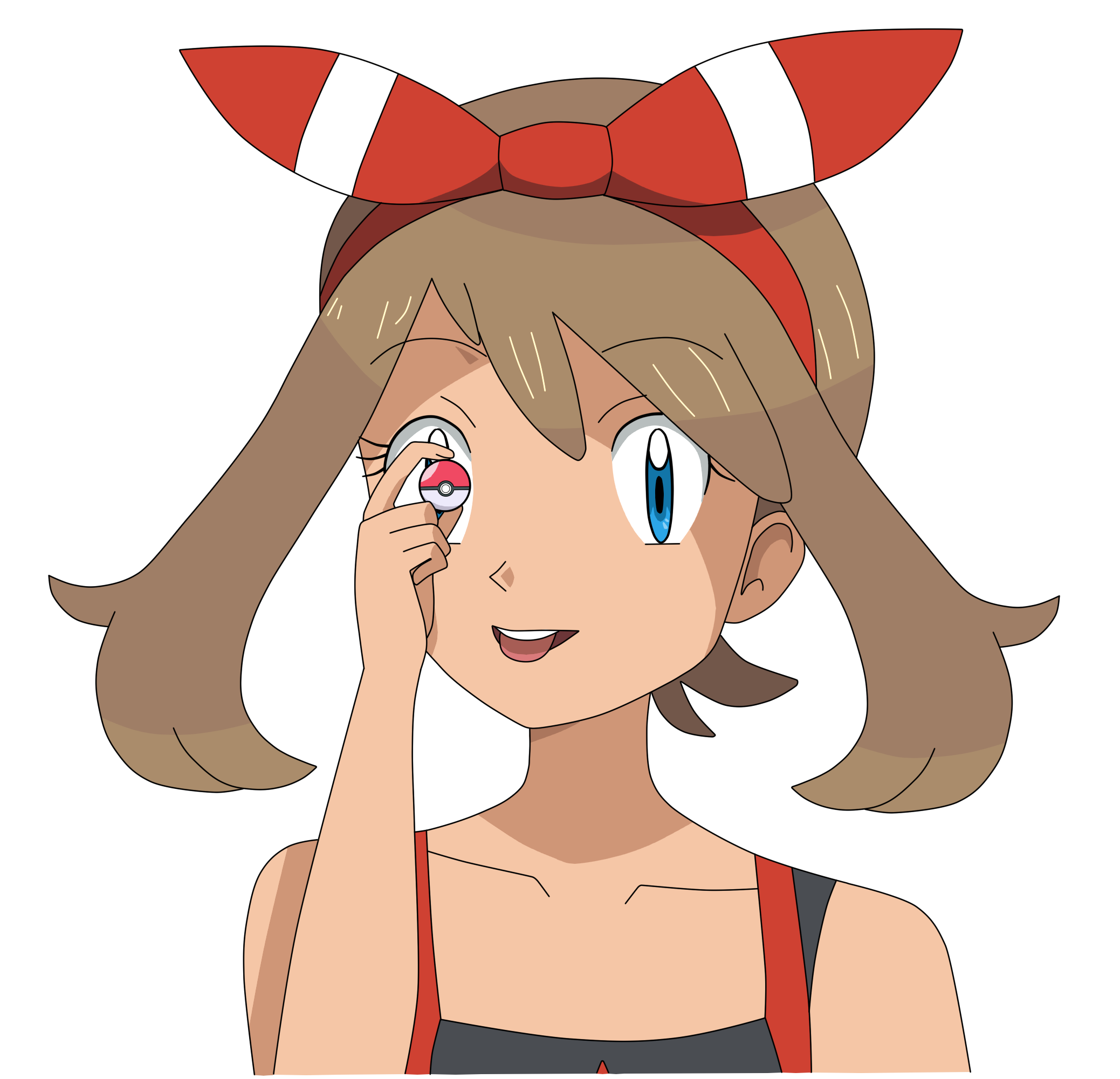 Pokeball clipart small. My hoenn by haruharukaspring