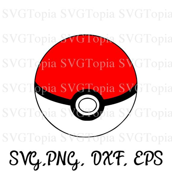 Pokemon png eps dxf. Pokeball clipart svg