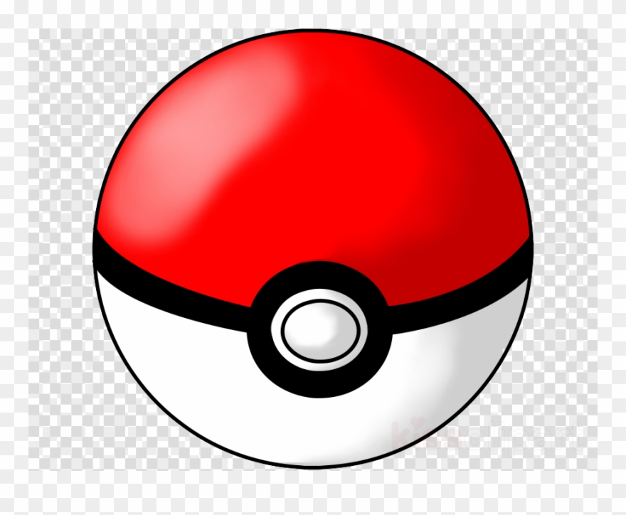 Download clip . Pokeball clipart transparent background