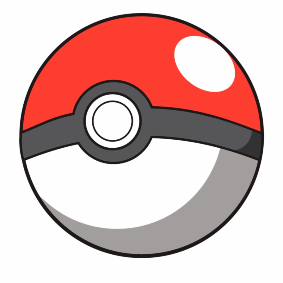 Pokeball clipart transparent background. Pokemon ball free png