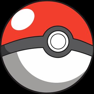 Pokeball clipart vector. Logo ai free download