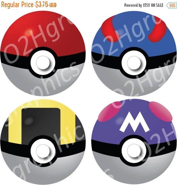 Nov sale pokemon clip. Pokeball clipart vector