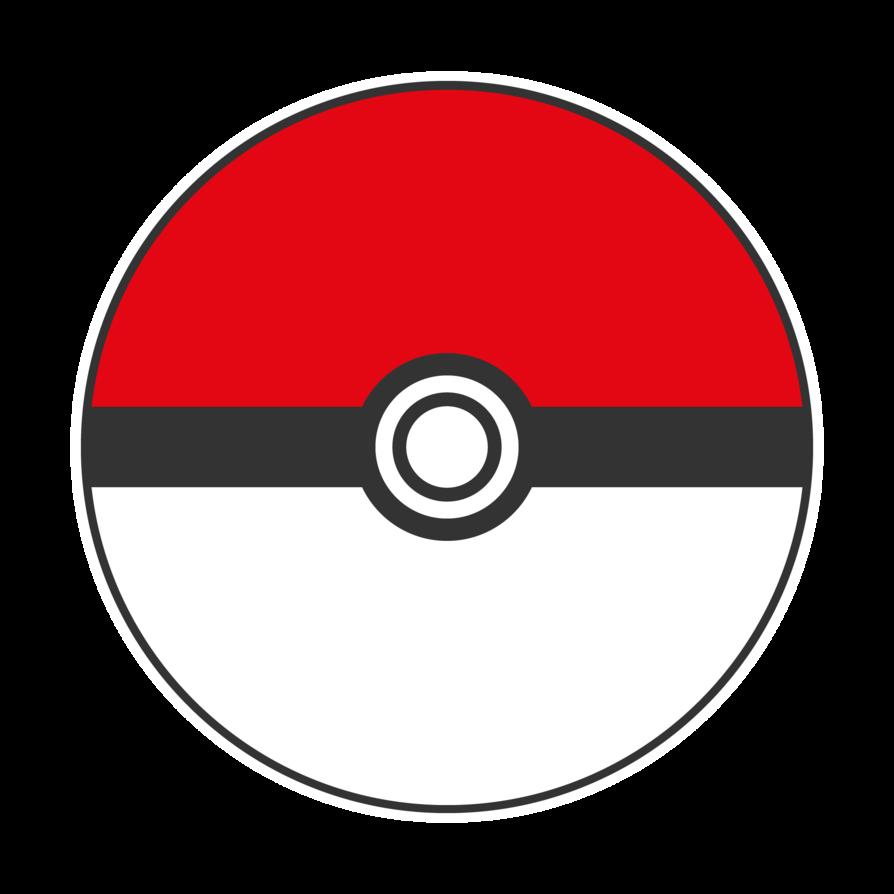 Logos pokeb by mangotangofox. Pokeball clipart vector