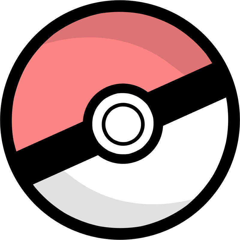 Free icons and png. Pokeball clipart vector