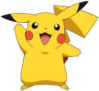 Pokemon clip art free. Anime clipart pikachu