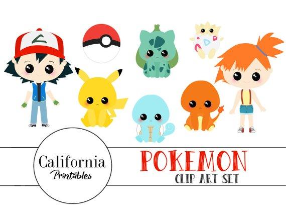 Pokemon clipart.  off clip art
