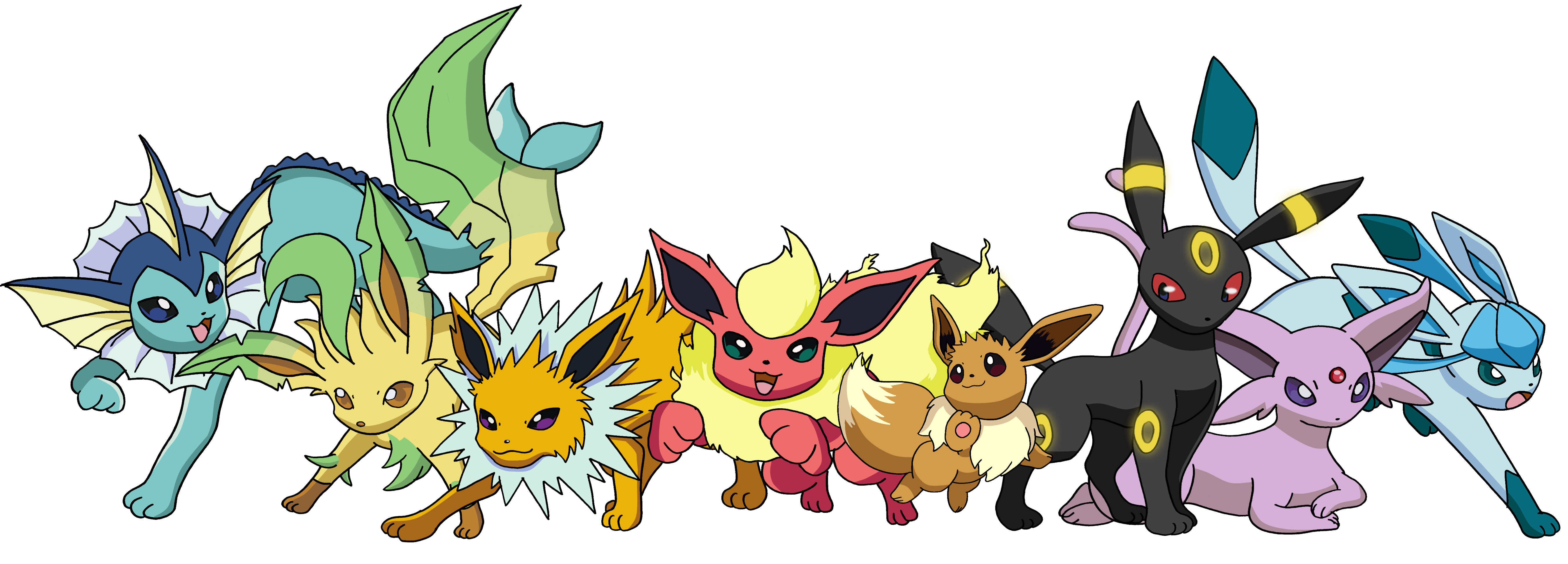 Pokemon clipart animation. Here are all gen
