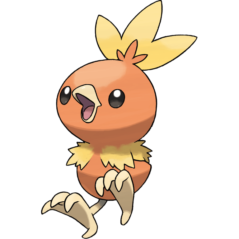 Starters ranked from charmander. Pokemon clipart bird