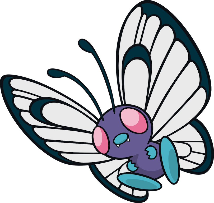 Image png total amazon. Pokemon clipart butterfree
