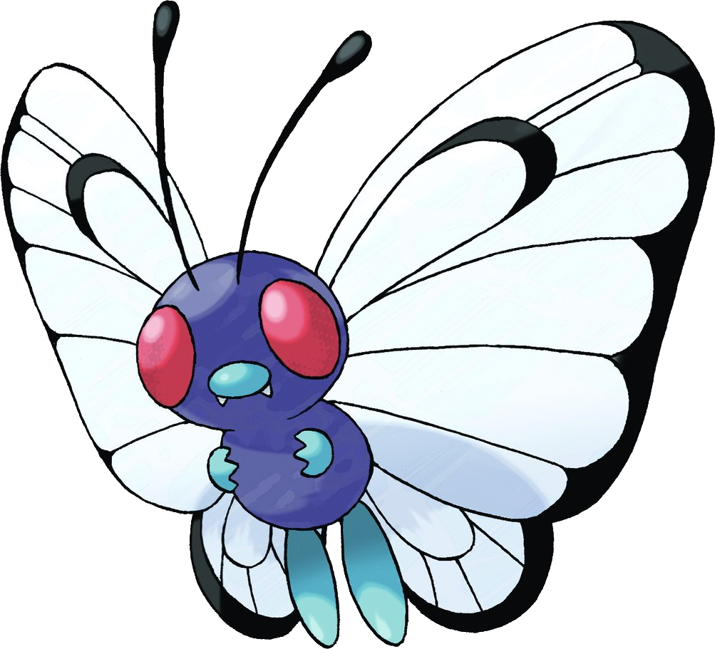E monster dungeons and. Pokemon clipart butterfree