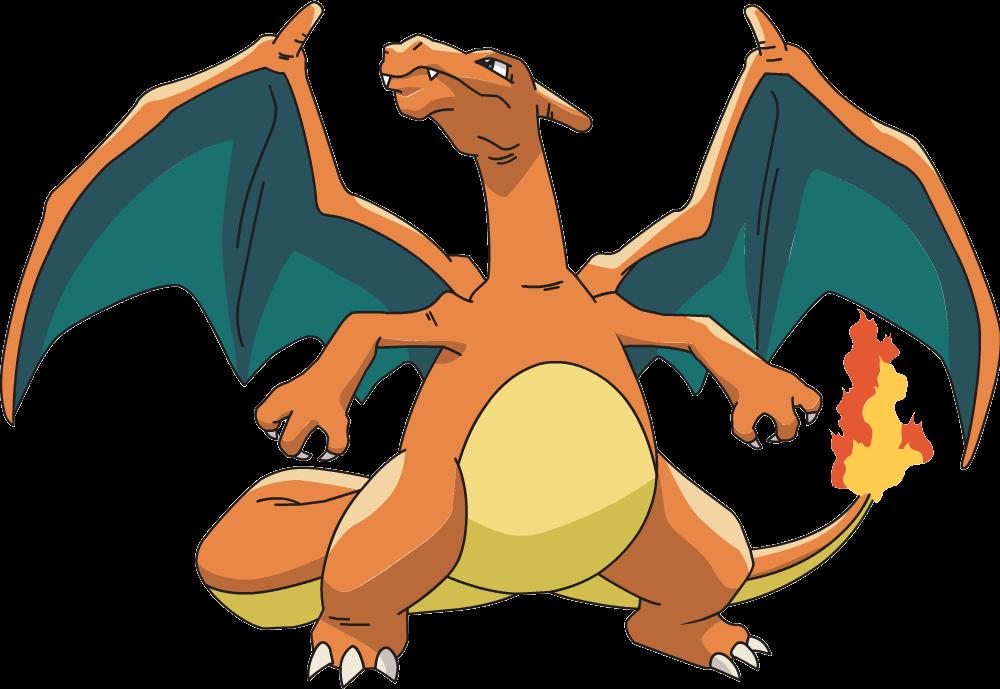 Charizard clipground. Pokemon clipart dragon