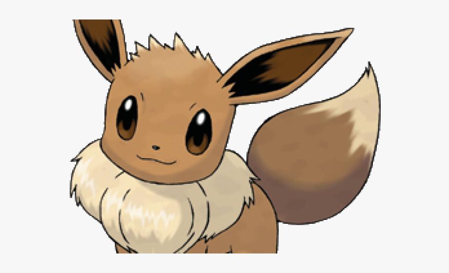 Como dibujar a transparent. Pokemon clipart eevee