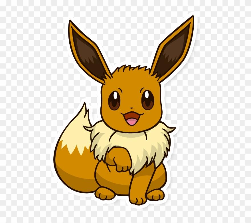 ito en pok. Pokemon clipart eevee