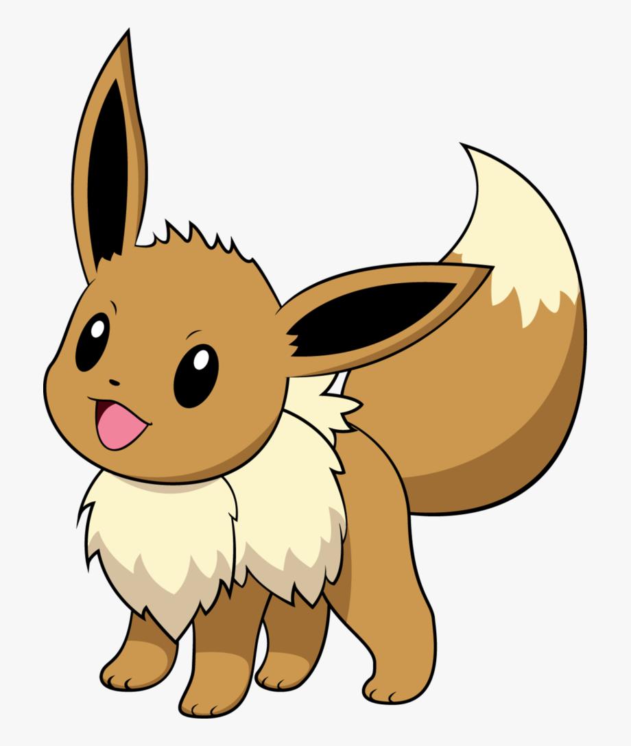 Pokemon clipart eevee. Discord emote transparent cartoon
