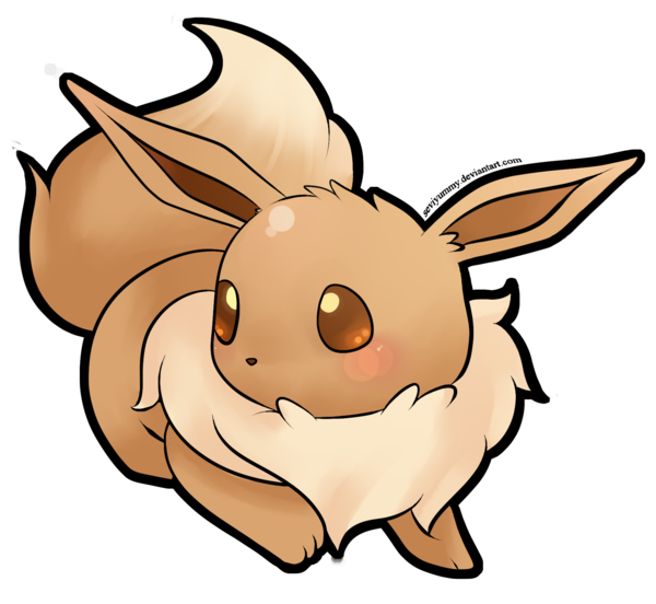 Pokemon clipart eeveelutions. Eevee drawing at getdrawings