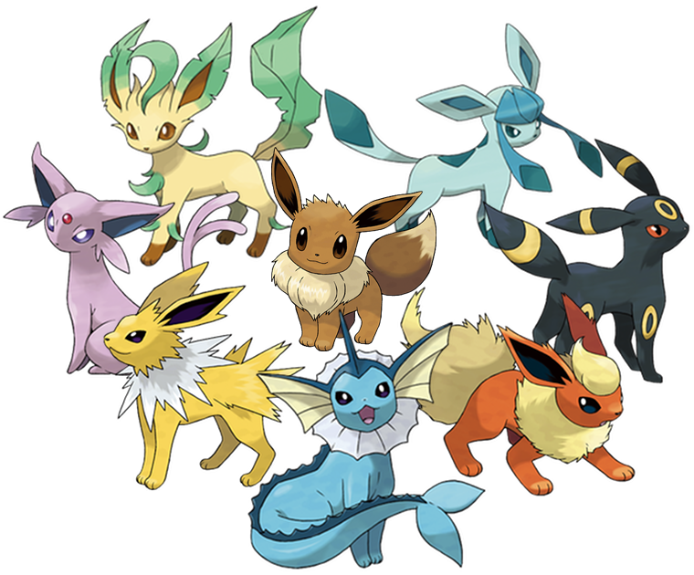 Eevee character comic vine. Pokemon clipart eeveelutions