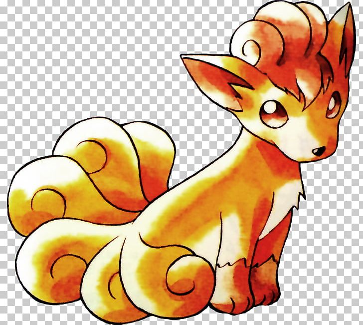 Pok mon red and. Pokemon clipart fox