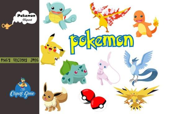 Pokemon clipart jpeg. Pikachu birthday video