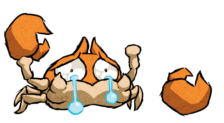 Pokemon clipart krabby. Wws by the thginny