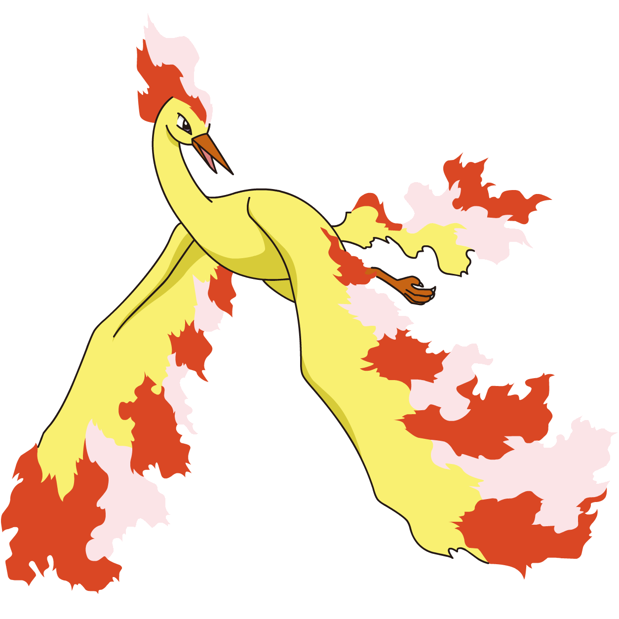 Pokedex from kanto pinterest. Pokemon clipart moltres
