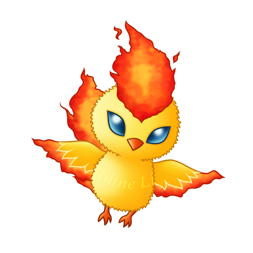 Pokemon clipart moltres. By raineli on deviantart