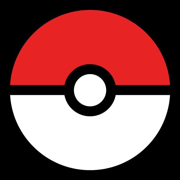 Pokemon clipart outline. Go jokingart com ball