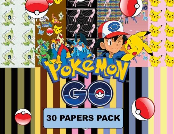 Pokemon clipart paper. Go pok mon inspired