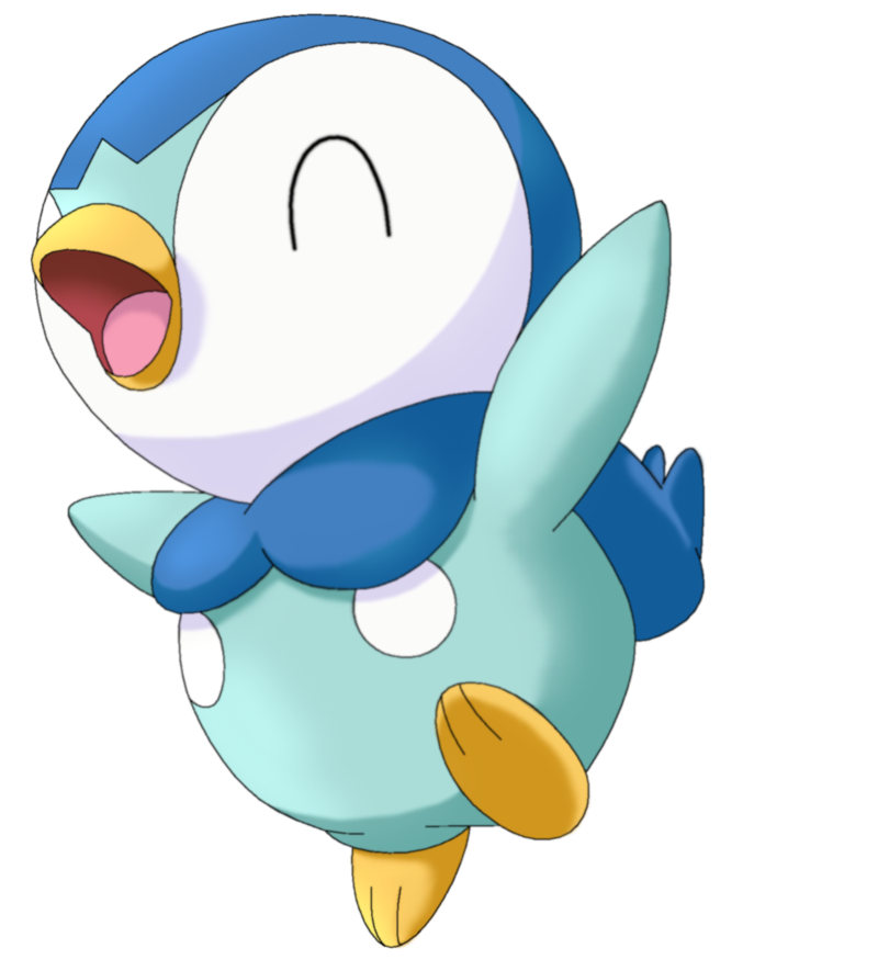 Pokemon clipart piplup.  by megbeth on