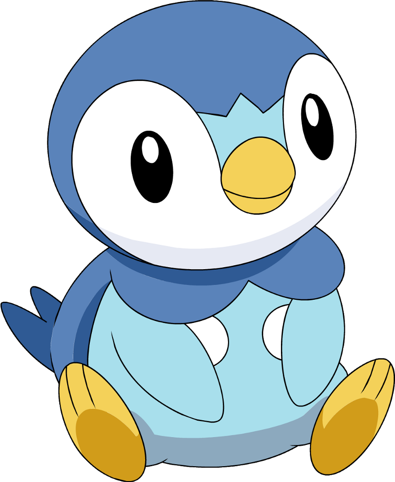 Pokemon clipart piplup. What starter should i