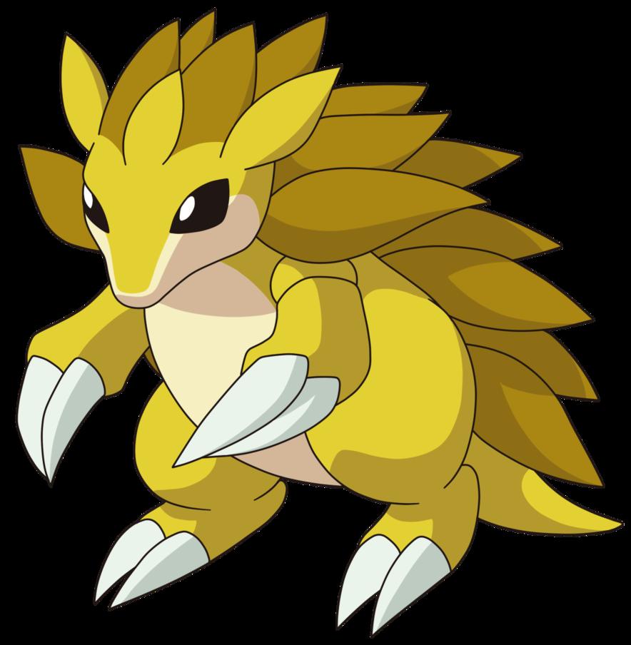 Pok mon sandslash pinterest. Pokemon clipart powerful