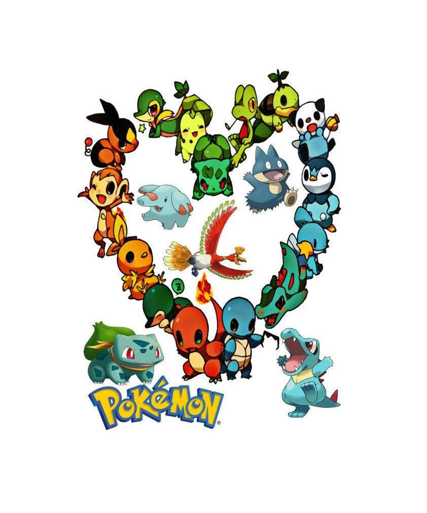 Go pok mon theme. Pokemon clipart template