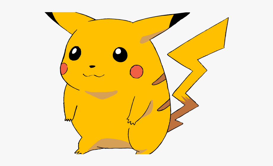 Pikachu chubby free . Pokemon clipart thug