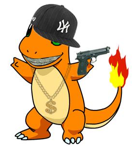 Life gangsta panda free. Pokemon clipart thug