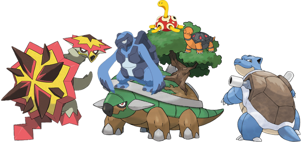 Group photo by princeofkoopas. Pokemon clipart turtle