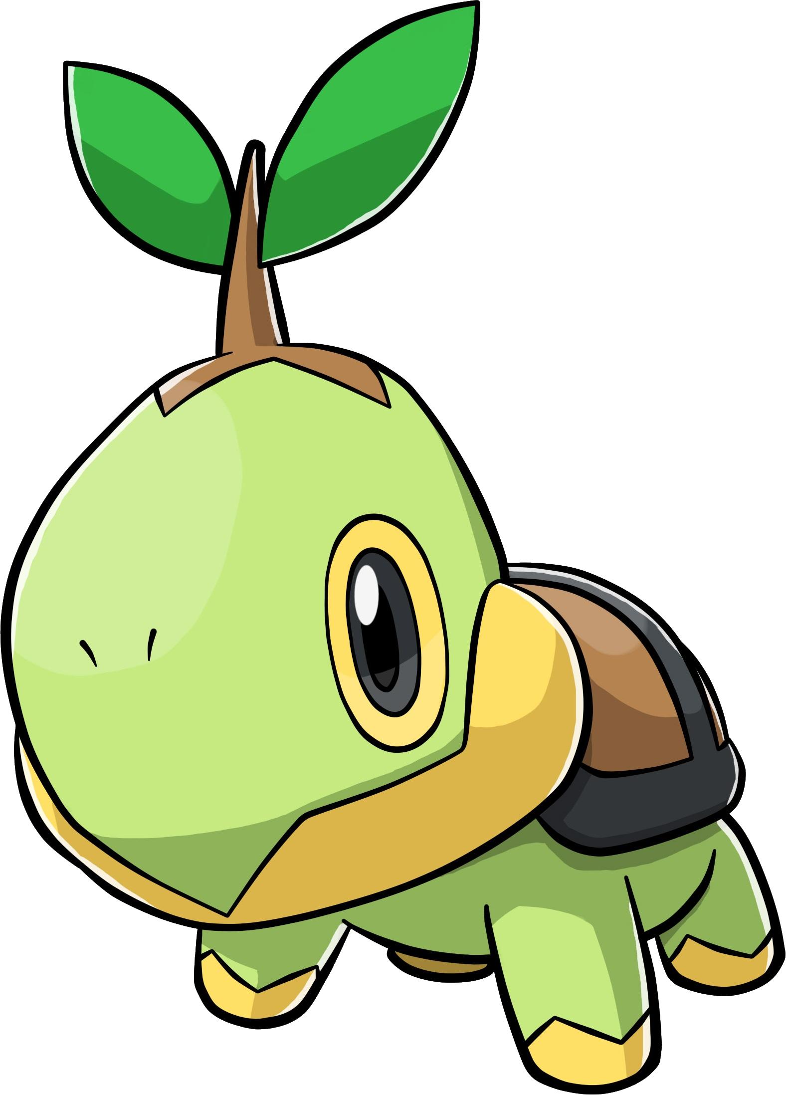 Image turtwig ranger guardian. Pokemon clipart turtle