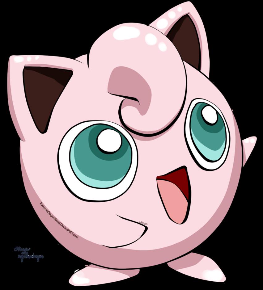 Pokemon clipart version. Jigglypuff by miriam hiromi