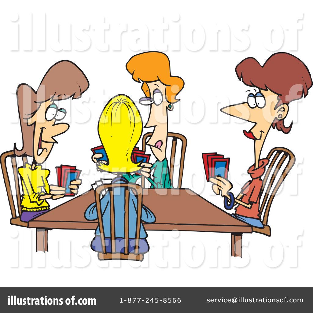 Poker clipart. Illustration by toonaday royaltyfree