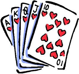 Poker clipart. Game