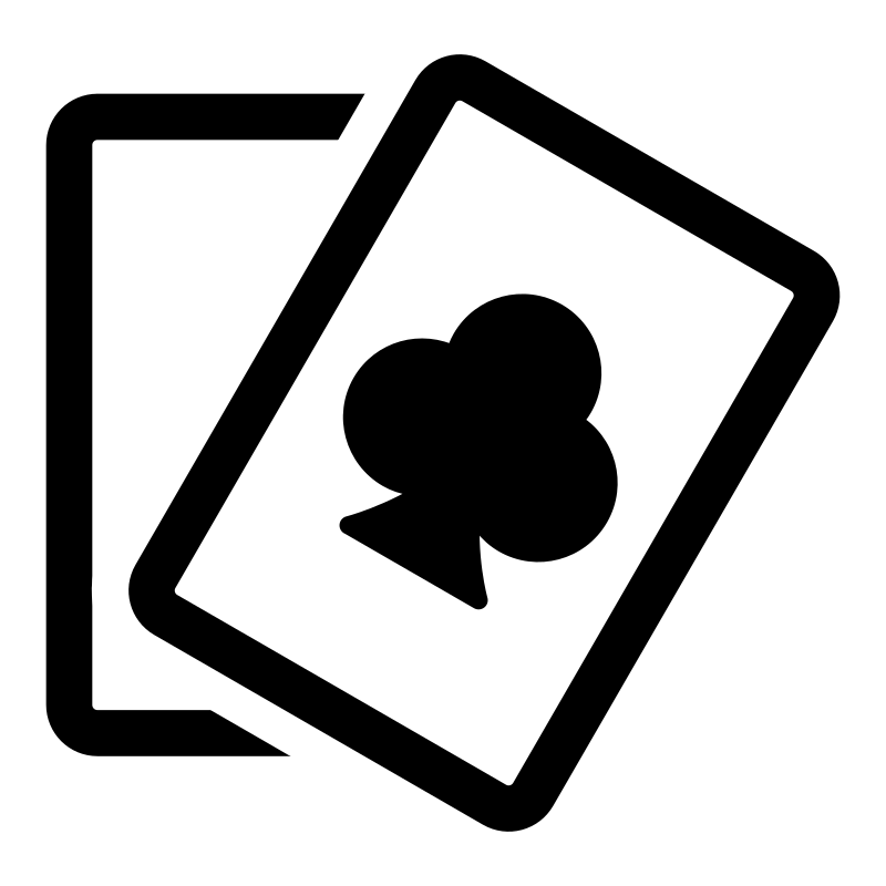 Poker clipart bridge card.