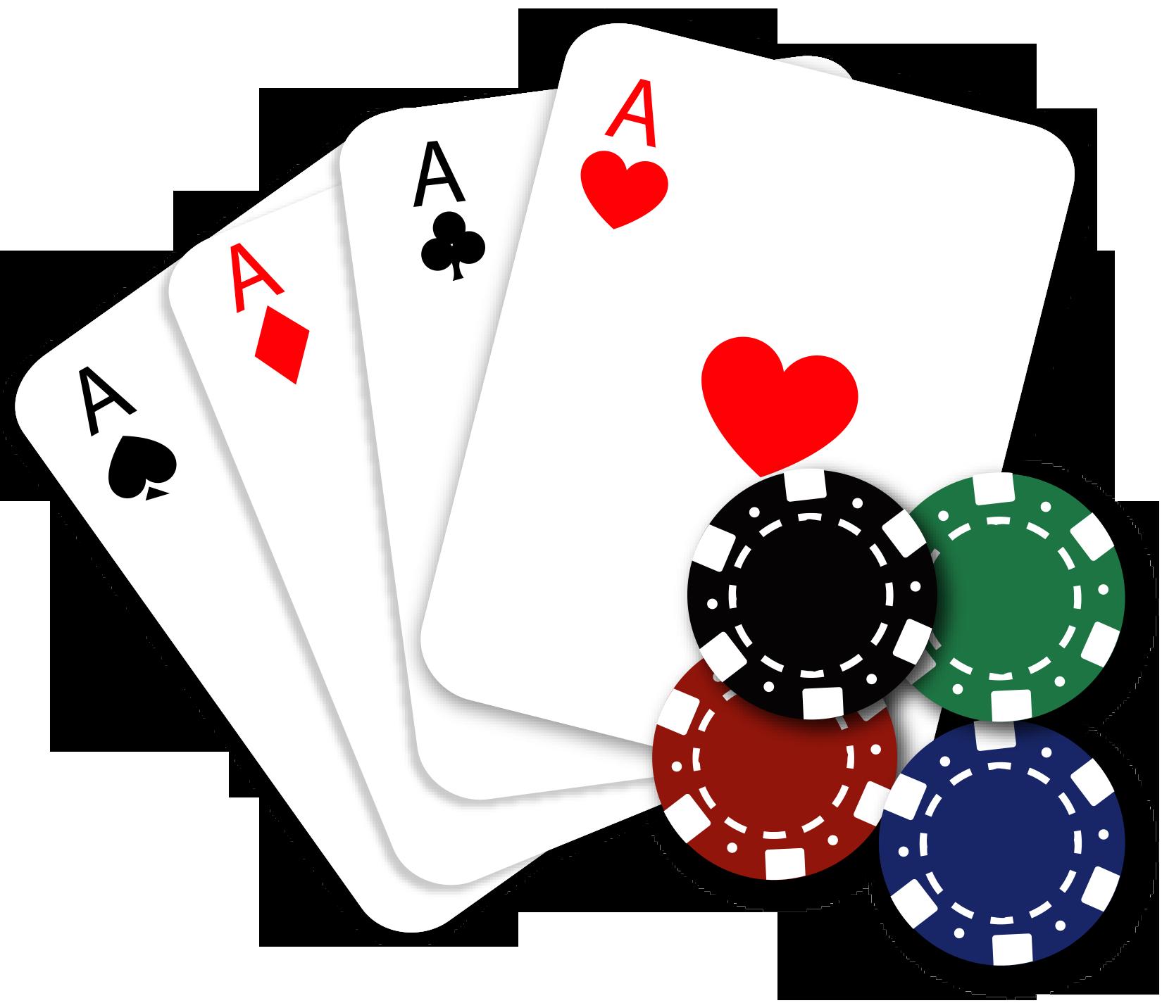 poker clipart poker run