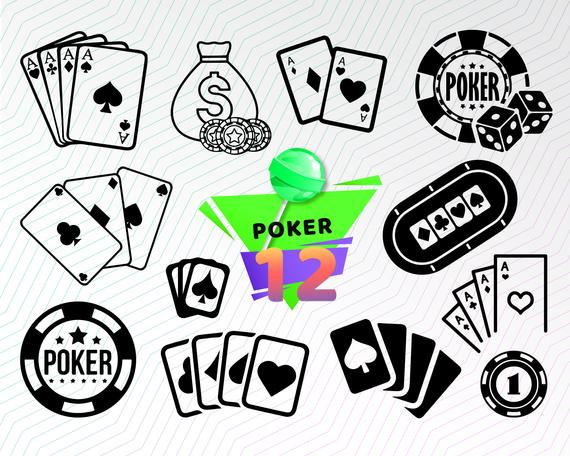 Poker clipart svg. Cards casino playing