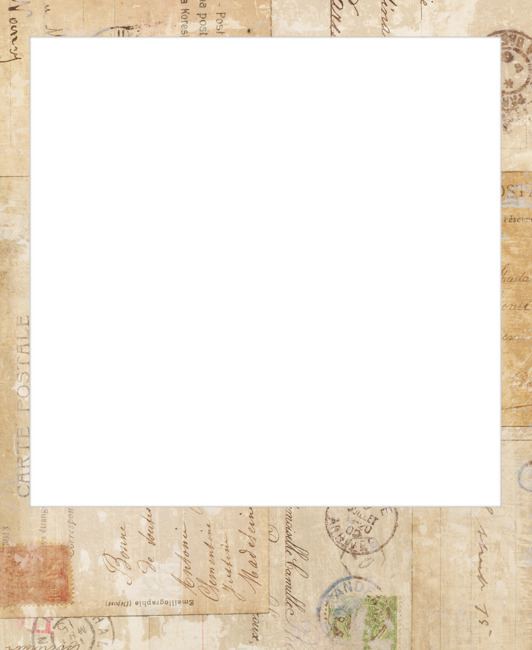 Vintage polaroid frame png. Picture template april onthemarch