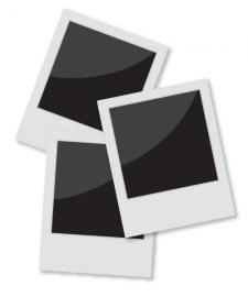 Frame clip art . Polaroid clipart