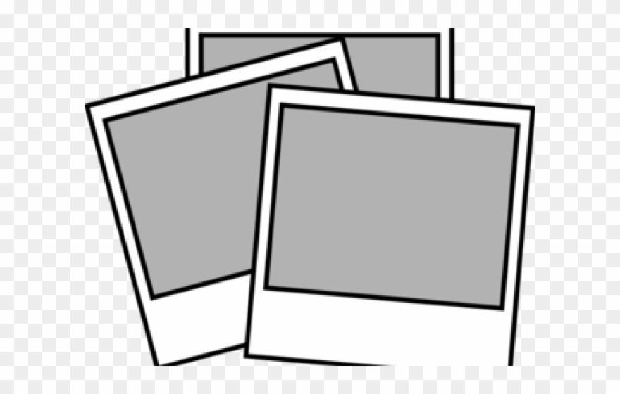 Photography instant polaroid photo. Camera clipart camera frame