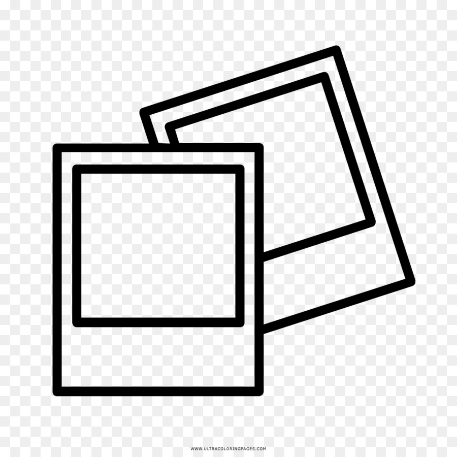 Polaroid clipart black and white. Frame drawing text font