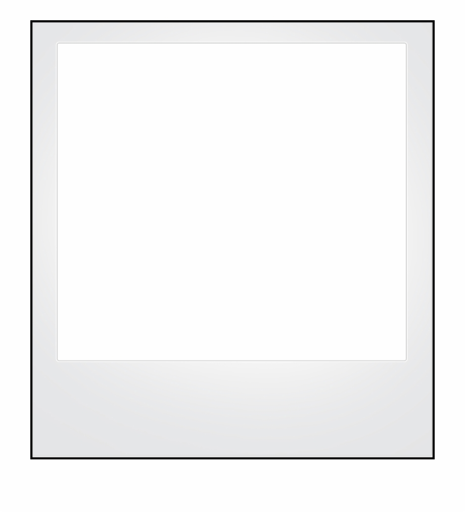Polaroid clipart outline.  png for free