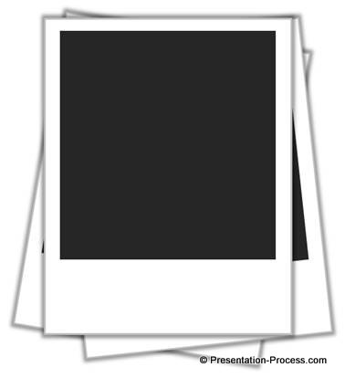 Easy picture frame in. Polaroid clipart outline